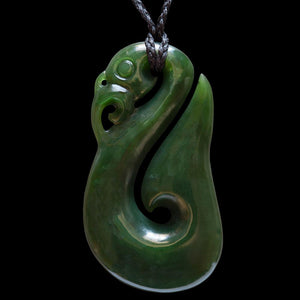Jade Manaia by Ewan Parker (3 Sizes) - Zen Gifts NZ