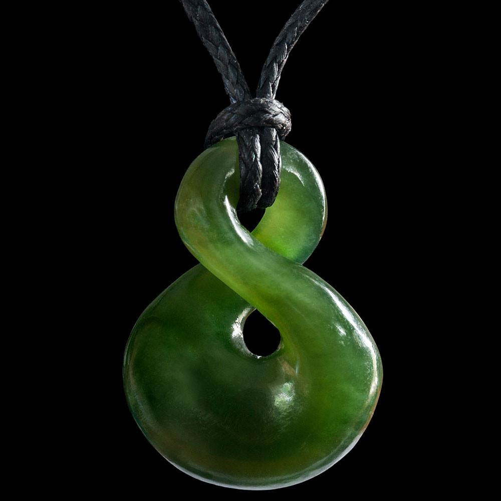 Small Jade Twist by Ewan Parker (2 Sizes) - Zen Gifts NZ