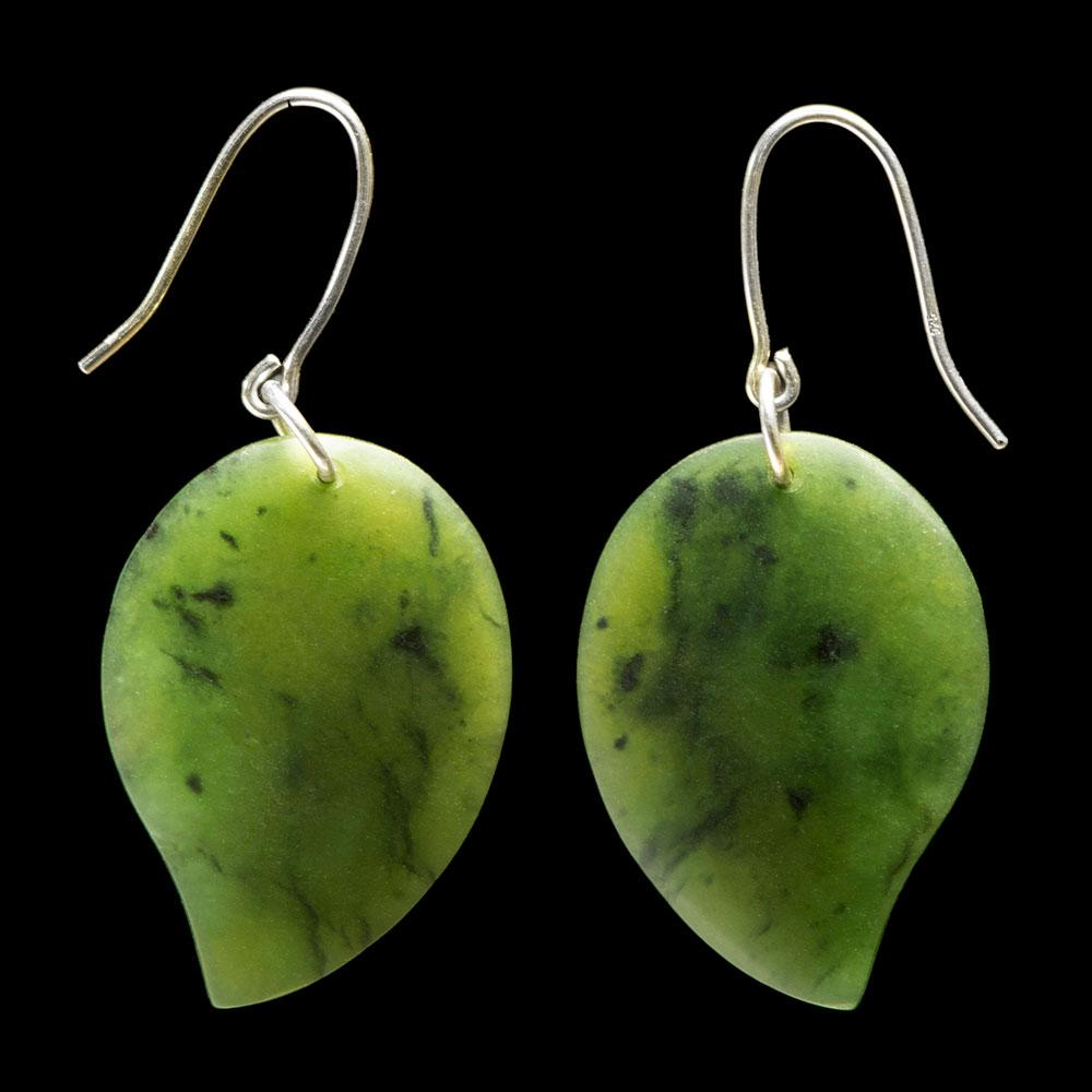 Leaf Earrings by Madelyne Gourdin - Zen Gifts NZ