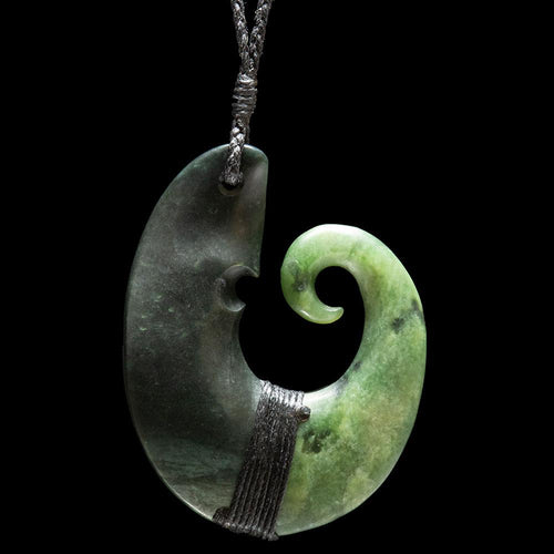 Large Jade Matau - Zen Gifts NZ