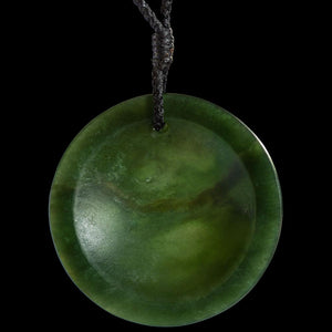 Jade Disc by Madelyne Gourdin - Zen Gifts NZ