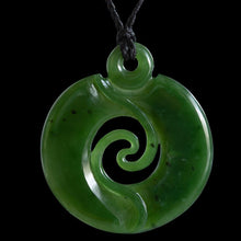 Load image into Gallery viewer, Large Twisting Vine Koru by Ross Crump - Zen Gifts NZ