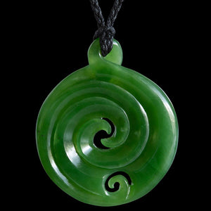 Large Twist Koru by Ross Crump - Zen Gifts NZ