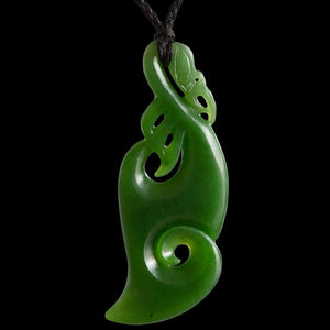 Large Manaia Koru by Ross Crump - Zen Gifts NZ