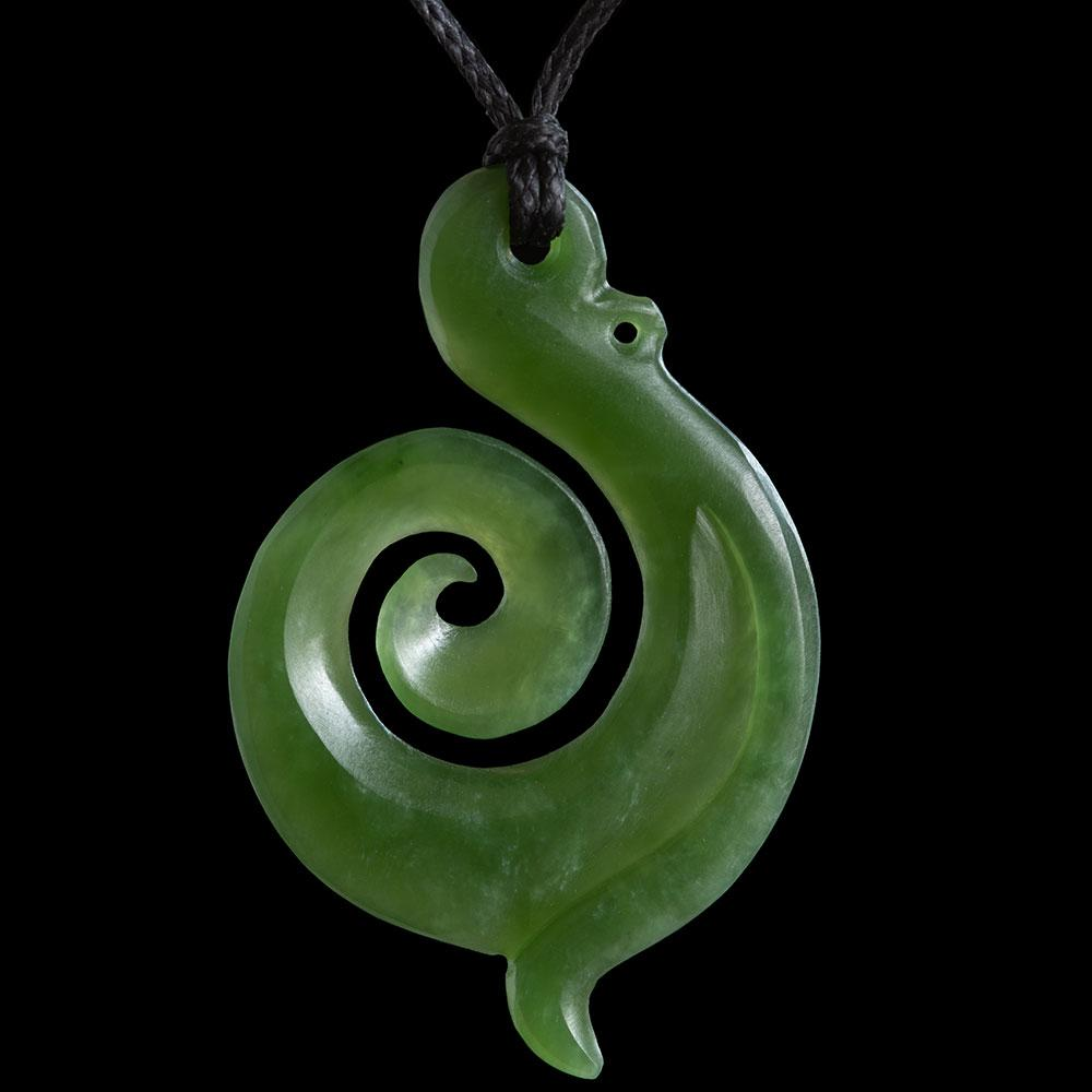 Jade Koru by Ross Crump - Zen Gifts NZ
