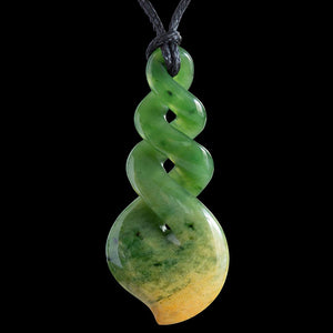 Flower Jade Twist by Luke Gardiner - Zen Gifts NZ