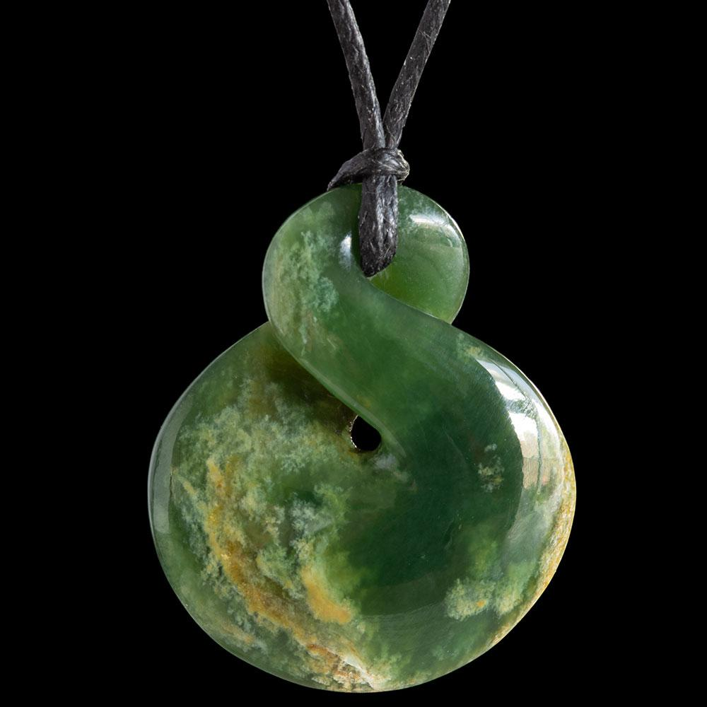 Small Flower Jade Twist by Luke Gardiner - Zen Gifts NZ