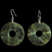 Load image into Gallery viewer, Tangiwai Pi Disc Earrings by Alex Sands - Zen Gifts NZ