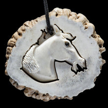 Load image into Gallery viewer, Deer Antler Mustang with Base - Zen Gifts NZ