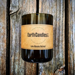 Wine Bottle Candles (360g) - Zen Gifts NZ