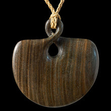 Load image into Gallery viewer, Large Wooden Twist Pendant - Zen Gifts NZ