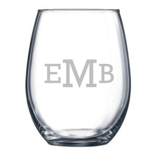 Personalized Glassware - wine, pint, rocks and more!