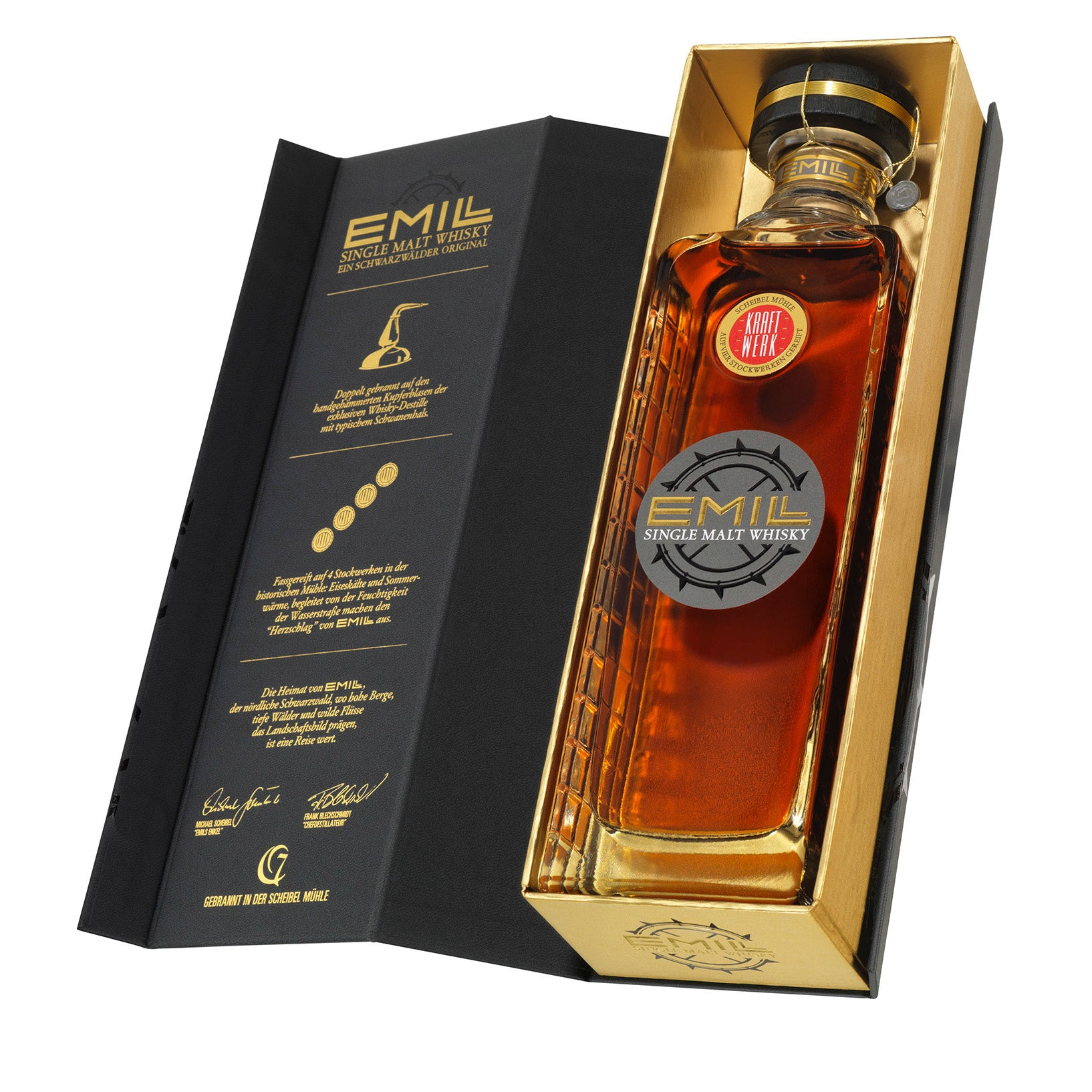 EMILL Kraftwerk – Single Malt Whisky