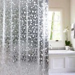 Rideau de Douche  Semi Transparent Impression Galets