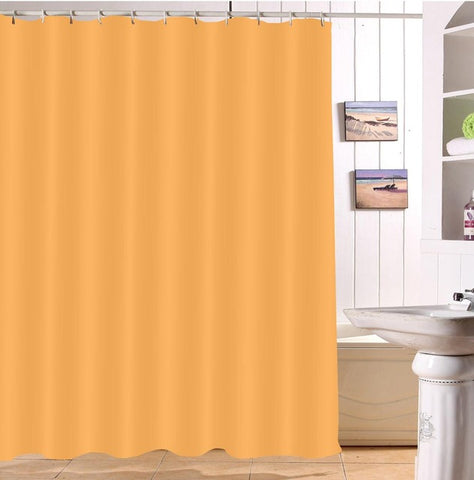 Rideau de Douche Orange pastel
