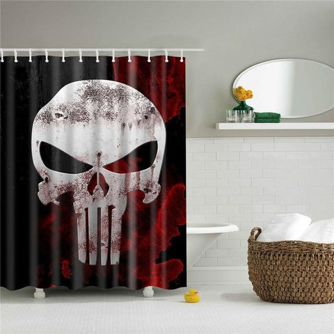 Rideau de Douche Punisher | Fun-rideau
