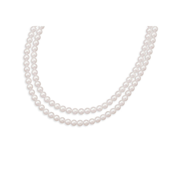 Double Strand A Grade Akoya Pearl Necklace