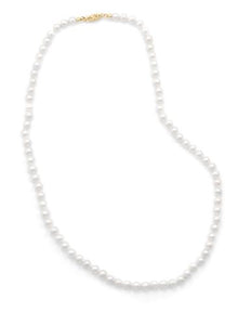 "16"" 5-5.5mm Cultured Freshwater Pearl Necklace"