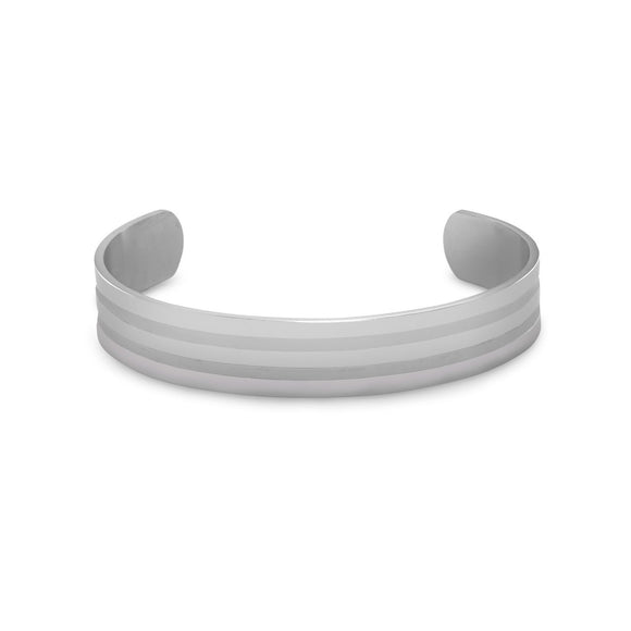 316L Stainless Steel Men's Cuff Bracelet