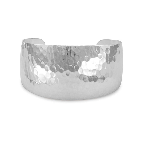 Tapered Hammered Cuff