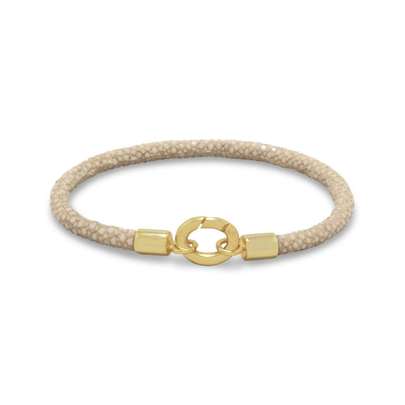 Tan Stingray Bracelet