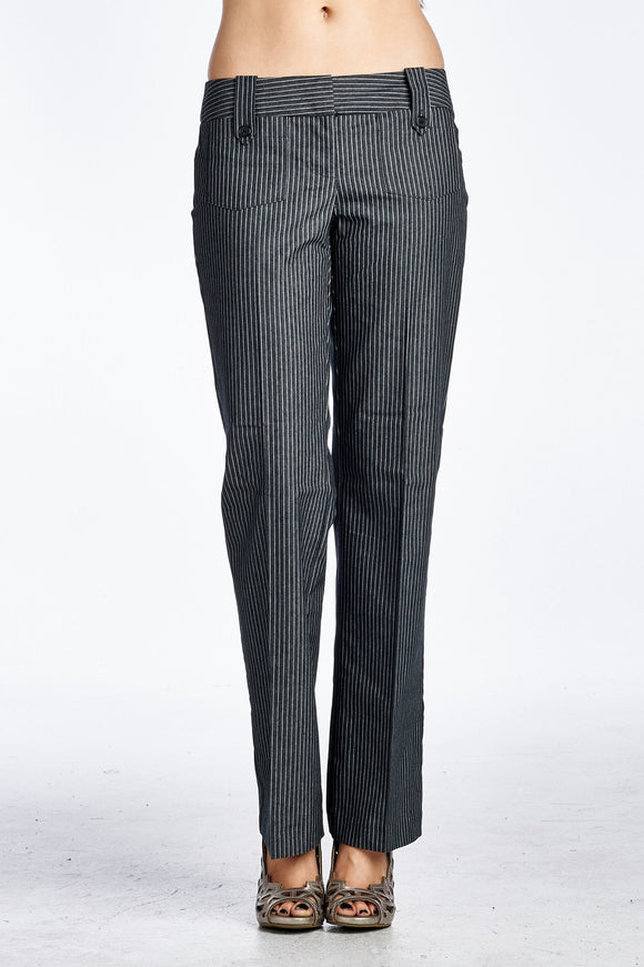 Women's Pinstripe Career pants