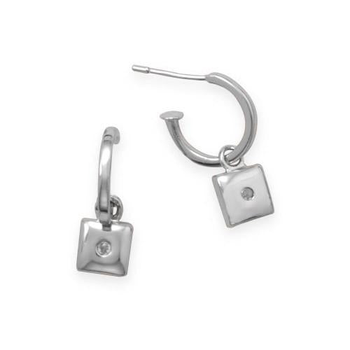 April Diamond Earrings