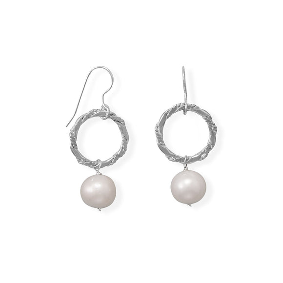 Strike A Pose! Cultured Freshwater Pearl Earrings