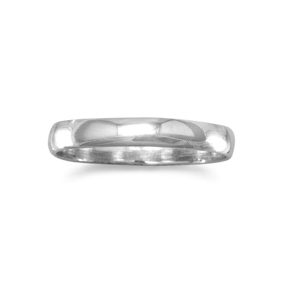 Polished 3mm Solid Band