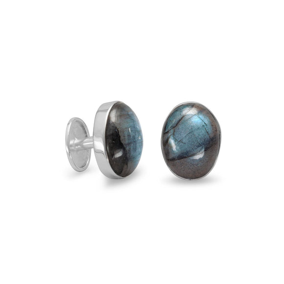 Labradorite Cuff Links