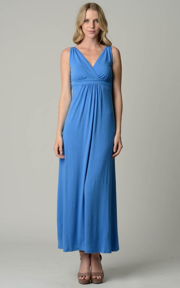 Women's Empire Waist Maxi Dress