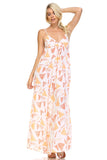 Women's Printed Maxi Tank Dress