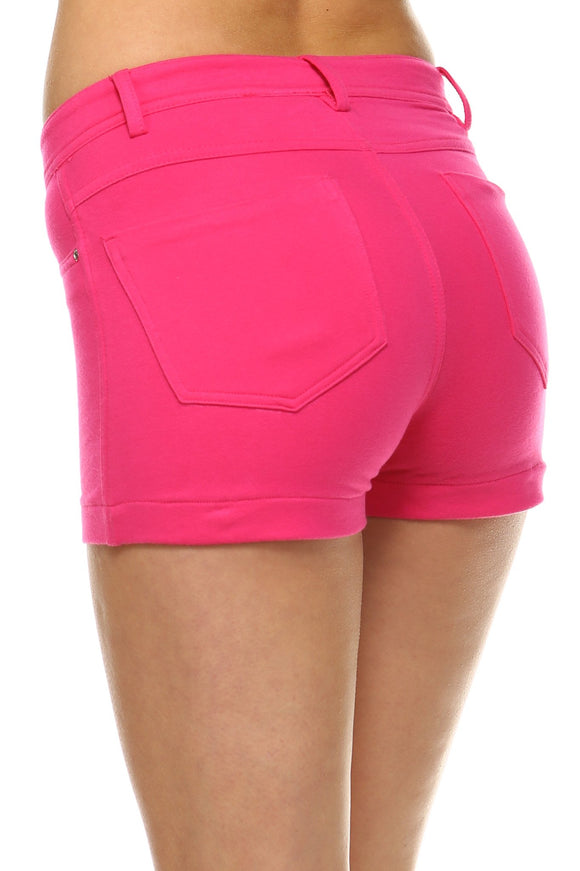 Women's Low-Rise Booty Shorts