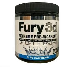 Fury 3d Pre workout 50 Servings