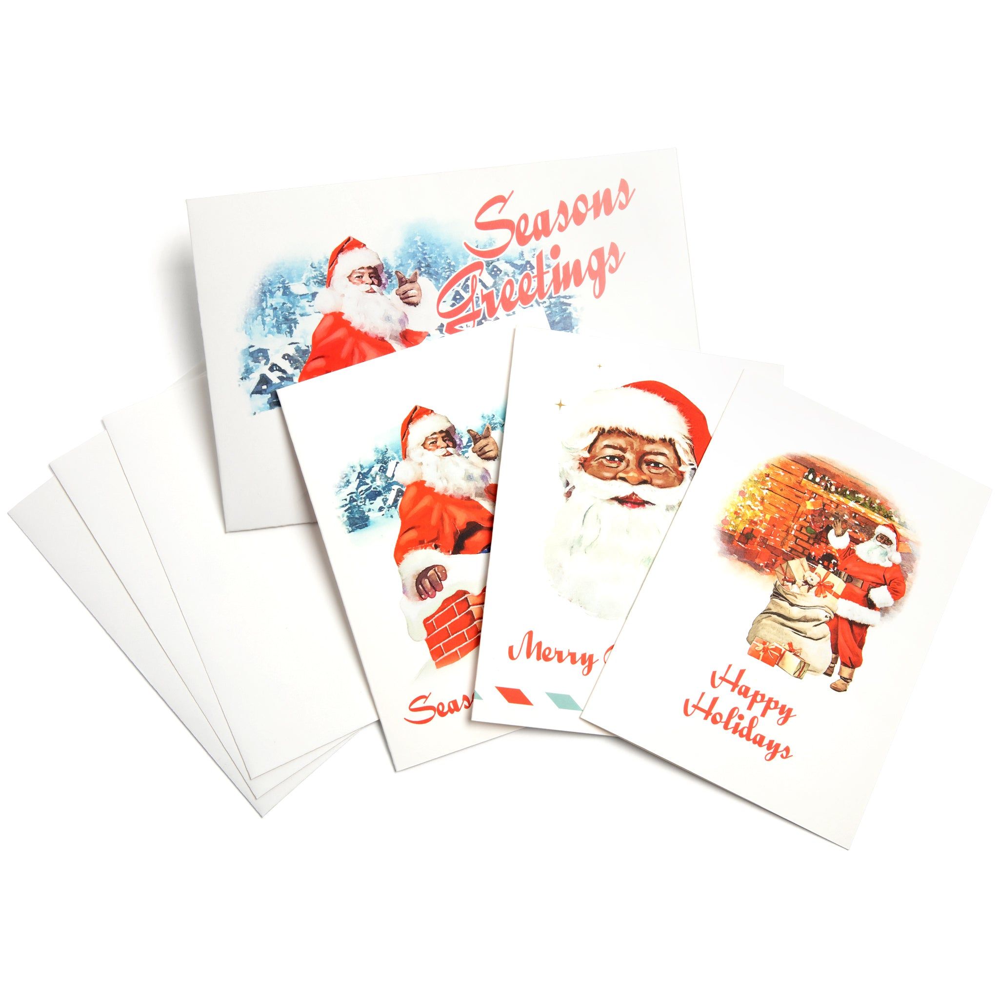 Our Santa Greeting Cards Set