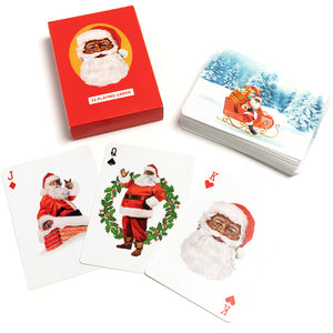 Our Santa Playing Cards