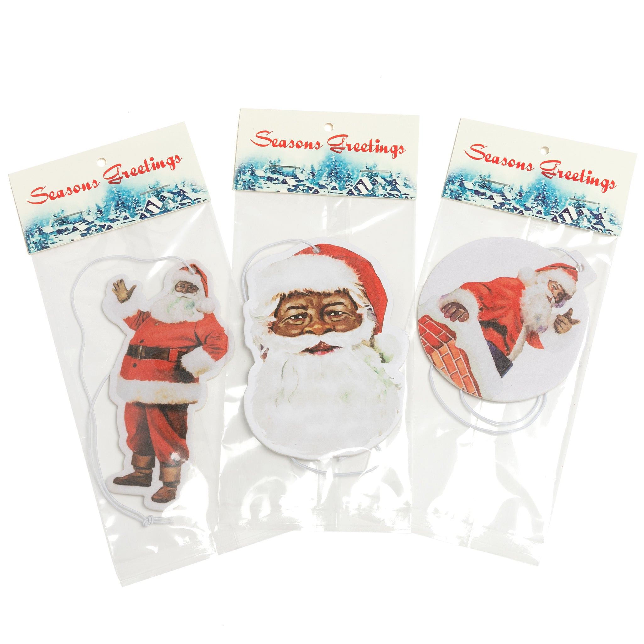 Our Santa Portrait Air Freshener
