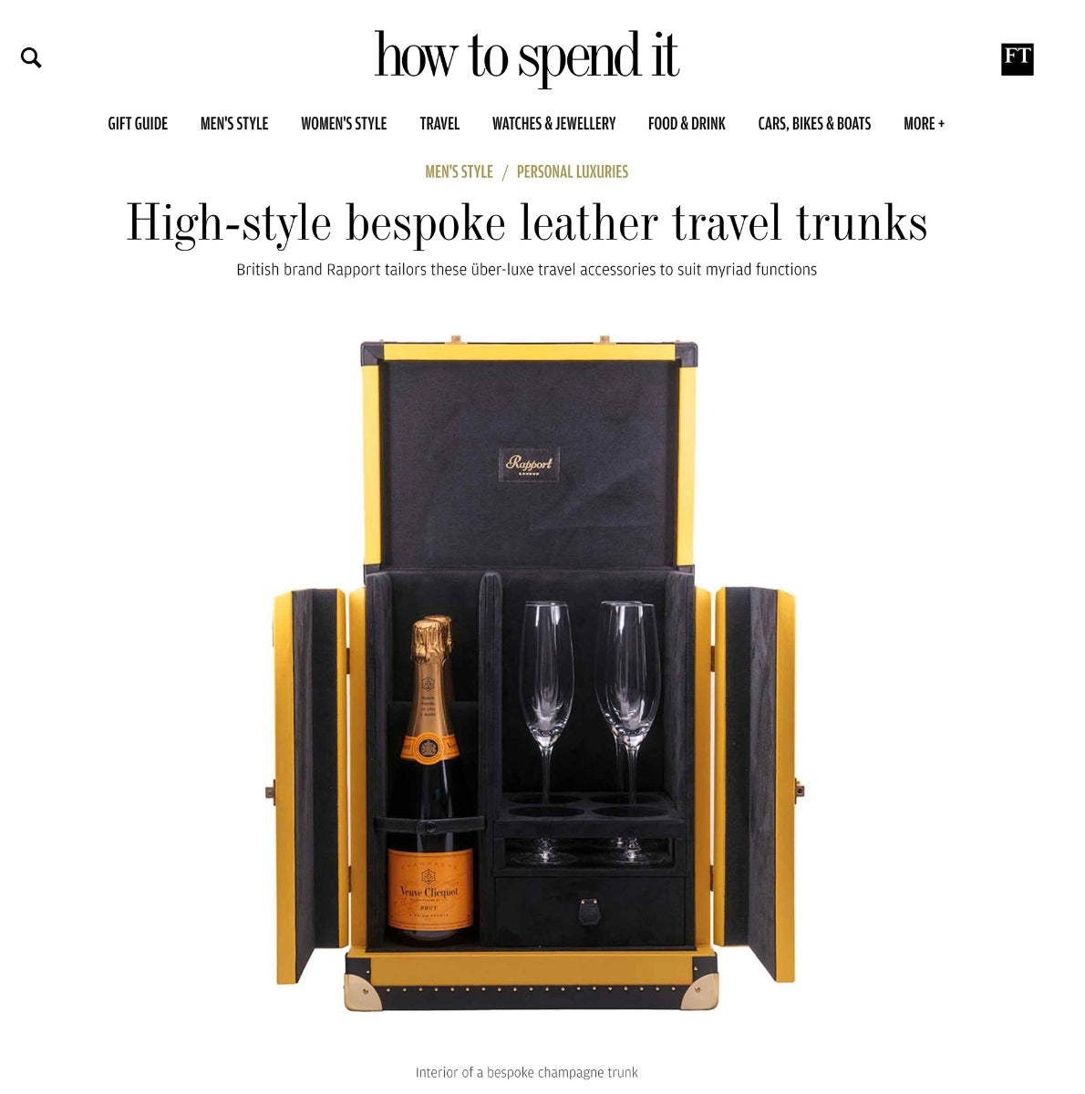 Rapport FT How To Spend It article 01
