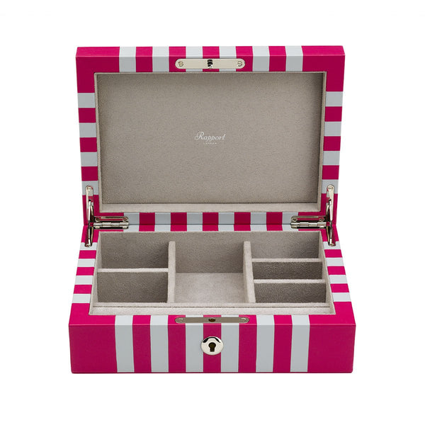 Rapport-Ladies-Maze Jewellery Box-Pink White