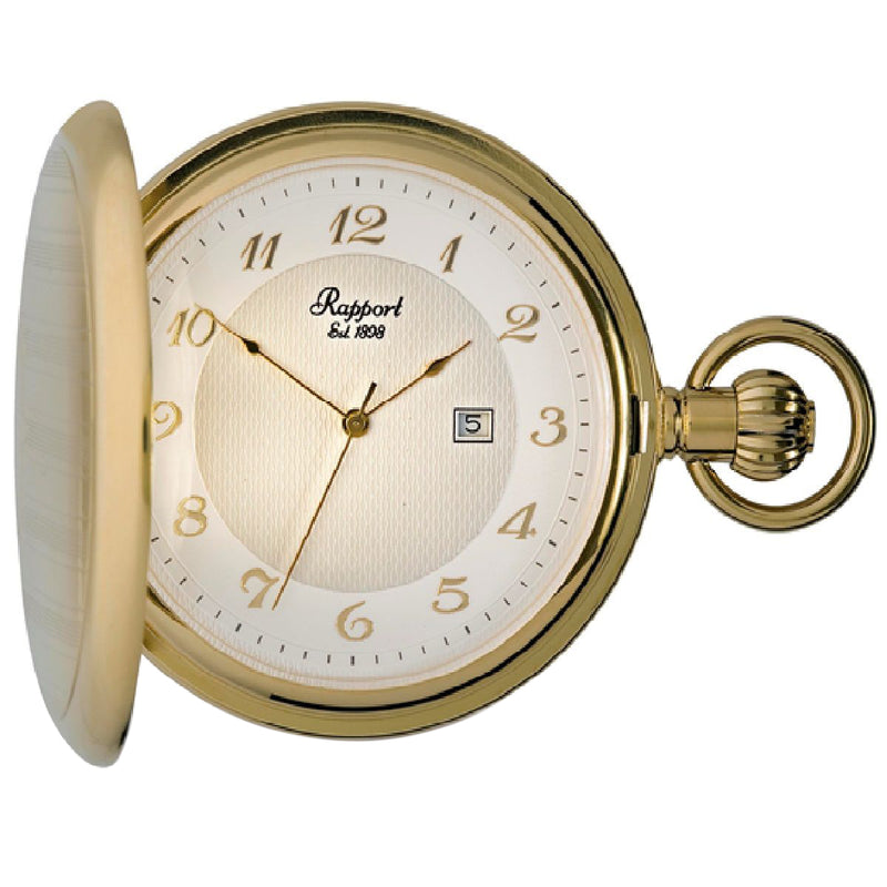Rapport--Full Hunter Pocket Watch 53mm-Gold