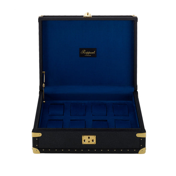 Rapport-Watch Box-Berkeley Eight Watch Box-Navy