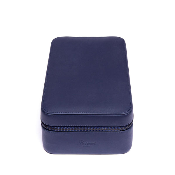 Rapport-Watch Accessories-Hyde Park Four Watch Zip Case-Navy