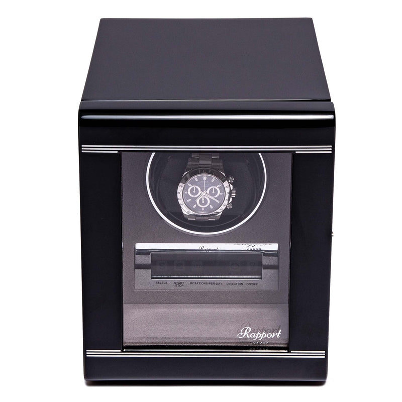 Rapport-Watch Winder-Formula Single Watch Winder-Black