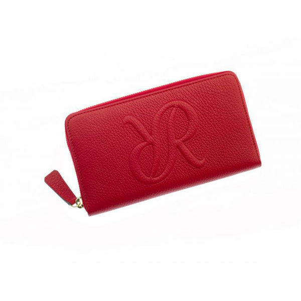 Rapport-Ladies-Sussex Zip Wallet-Red