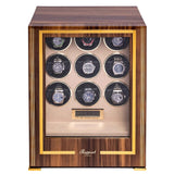 Rapport-Watch Winder-Paramount Nine Watch Winder-Walnut