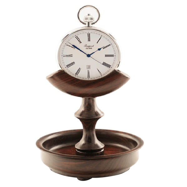 Rapport-Watch Accessories-Pocket Watch Stand Walnut Triangle-