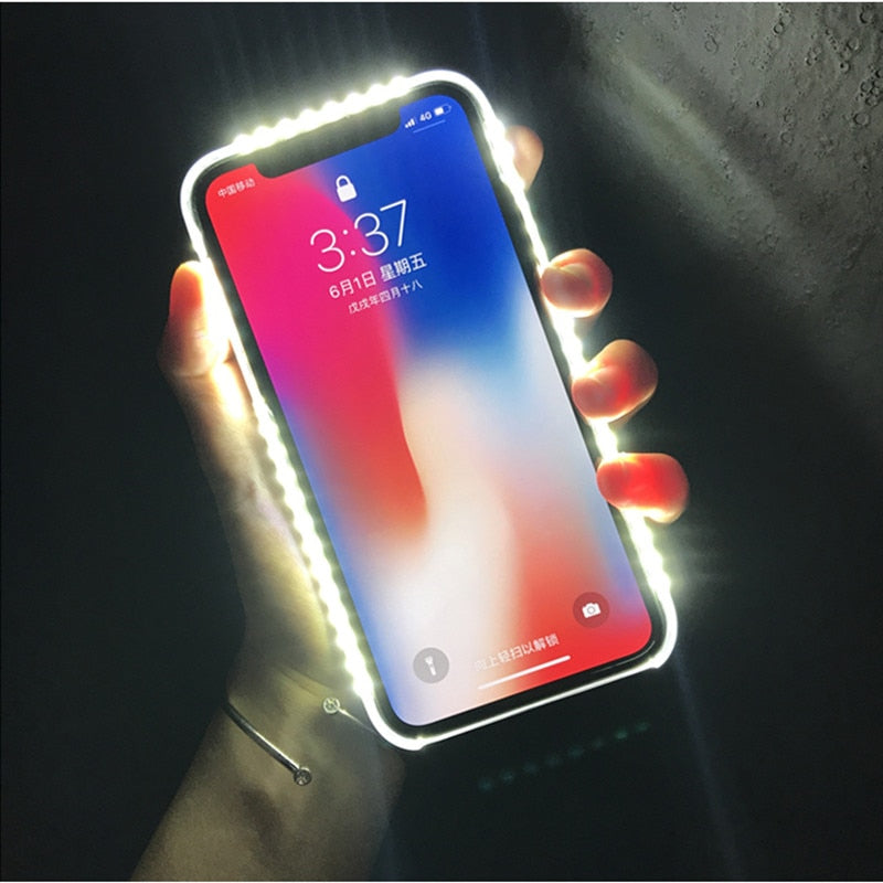 Selfie Light iPhone Case - elferiah.com
