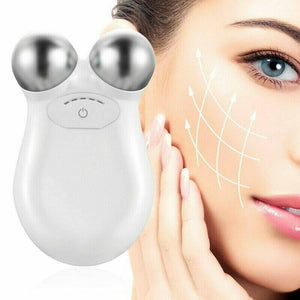 Microcurrent Vibration Face Lift Massager - elferiah.com