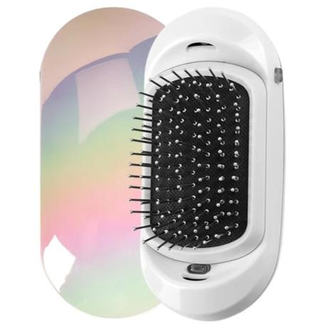 Portable Ionic Hair Brush - elferiah.com