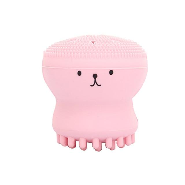 Octopus Silicone Cleansing Brush - elferiah.com